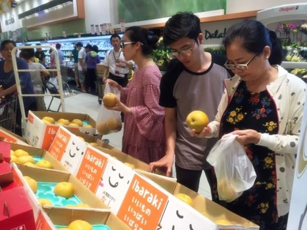 Promotion des produits agricoles du Japon sur le marche vietnamien hinh anh 1