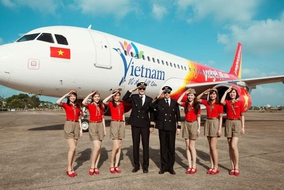 Vietjet primee en tant que compagnie aerienne pionniere hinh anh 1