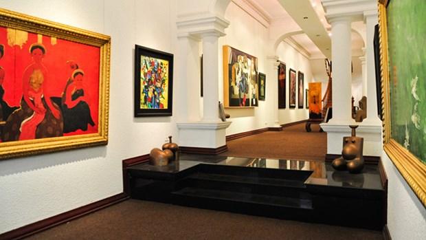 The Australia loue le developpement artistique de Hanoi hinh anh 1