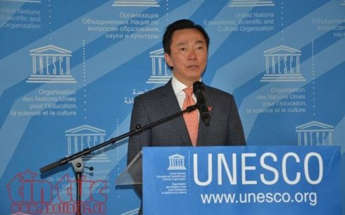Pham Sanh Chau se retire de l'election du prochain directeur general de l'UNESCO hinh anh 1