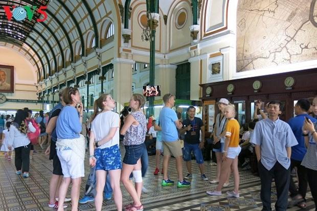 La Poste centrale de Saigon, un patrimoine architectural hinh anh 4