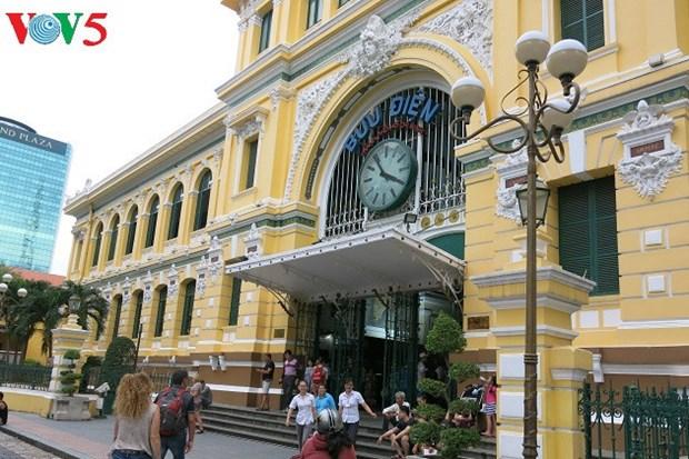 La Poste centrale de Saigon, un patrimoine architectural hinh anh 1