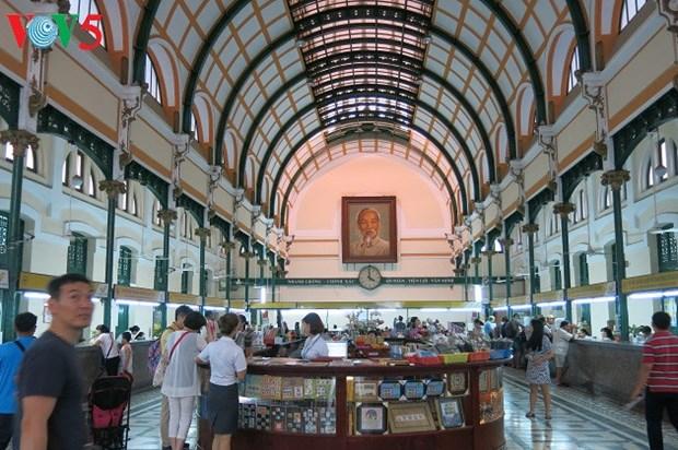 La Poste centrale de Saigon, un patrimoine architectural hinh anh 2