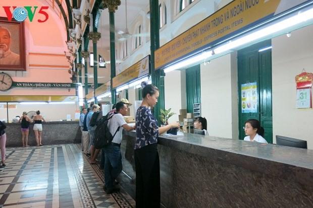 La Poste centrale de Saigon, un patrimoine architectural hinh anh 3