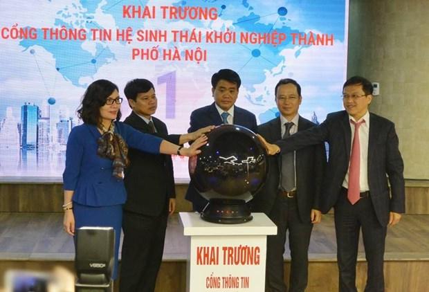 Un site web sur les startup de Hanoi voit le jour hinh anh 1