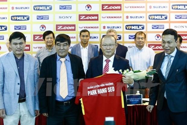 L'equipe nationale de football du Vietnam a un nouvel entraineur hinh anh 1