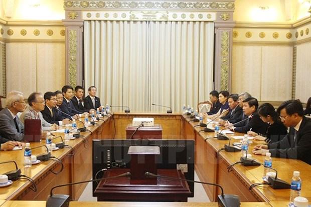 Ho Chi Minh-Ville et Kawaguchi intensifient leur cooperation hinh anh 1