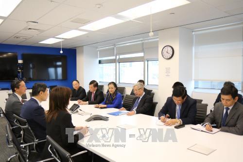 Le vice-ministre Nguyen Chi Vinh travaille avec des organes onusiens hinh anh 1