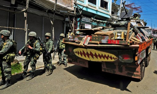 Philippines: la ville de Marawi a ete liberee hinh anh 1