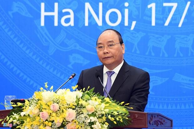 Nguyen Xuan Phuc a la ceremonie celebrant les 40 ans de l'adhesion du Vietnam a l'ONU hinh anh 1