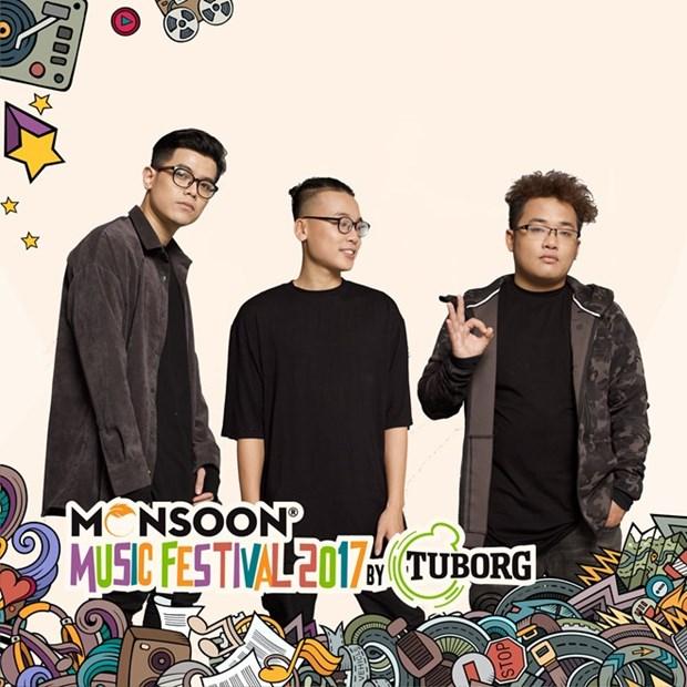 Bientot le festival de musique Monsoon 2017 hinh anh 1