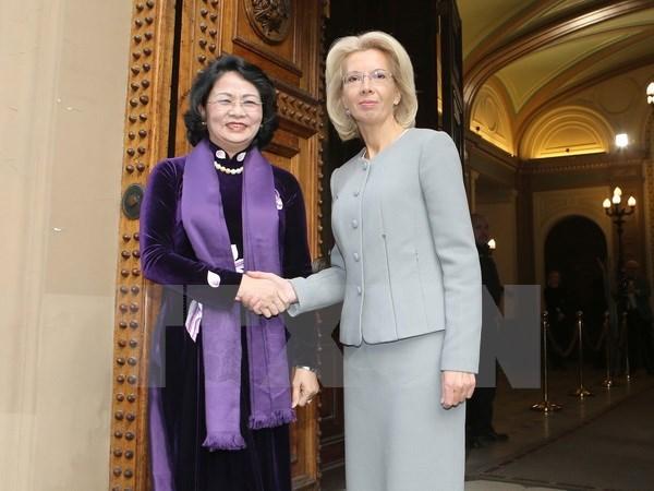 La Lettonie veut intensifier sa cooperation tout azimuts avec le Vietnam hinh anh 1