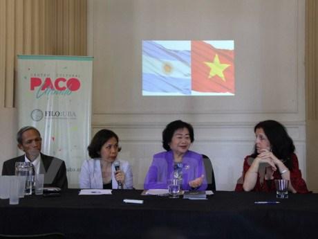 Les medias argentins interesses par le Vietnam hinh anh 1