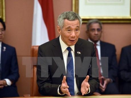 Le Premier ministre singapourien en visite aux Etats-Unis hinh anh 1