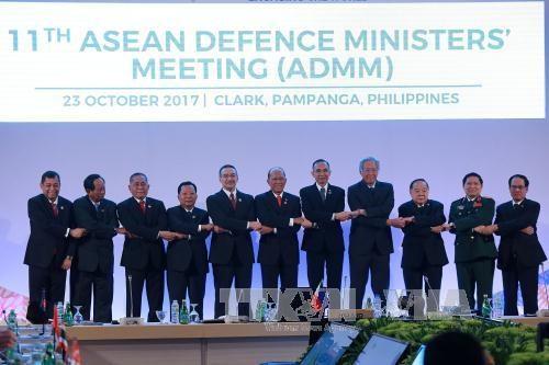 ADMM-11 : Declaration commune « Conjuguer les efforts pour le changement et l'integration mondiale » hinh anh 1