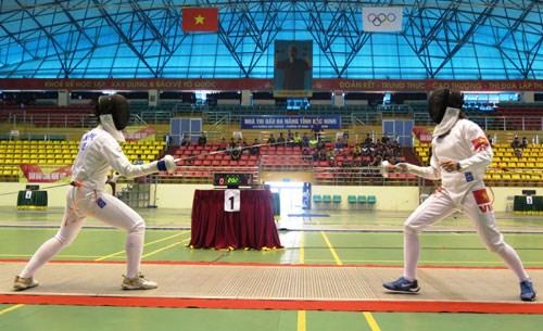 Bientot les Championnats d'escrime d'Asie U23 a Hanoi hinh anh 1