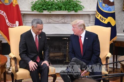 Etats-Unis et Singapour collaboreront dans la lutte contre la menace nucleaire nord-coreenne hinh anh 1