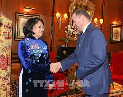 Renforcement de la cooperation Vietnam-Lituanie hinh anh 1