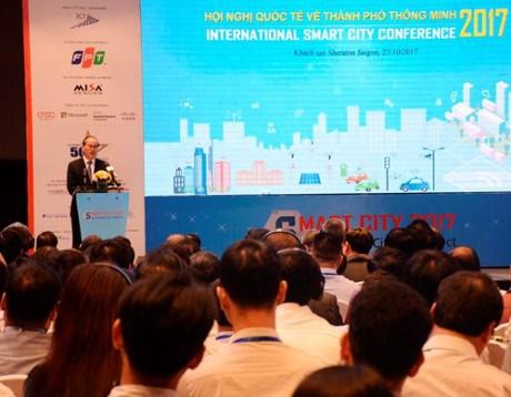 Conference internationale sur la ville intelligente a Ho Chi Minh-Ville hinh anh 1