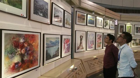Exposition internationale d'aquarelles a Hanoi hinh anh 3
