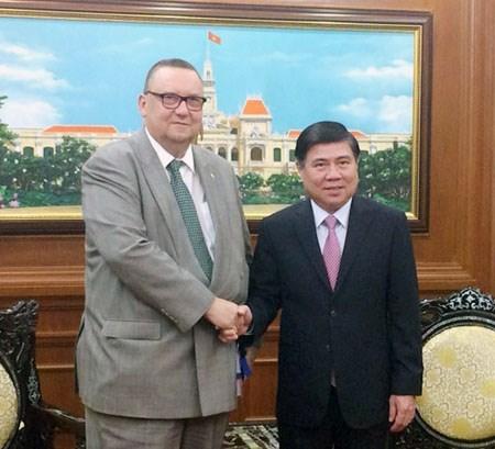 Ho Chi Minh-Ville veut cooperer avec les entreprises finlandaises hinh anh 1