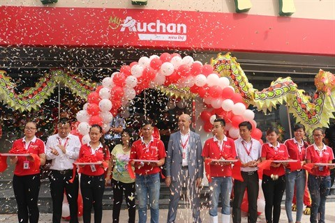 Ho Chi Minh-Ville : ouverture de la premiere superette «My Auchan» au Vietnam hinh anh 1