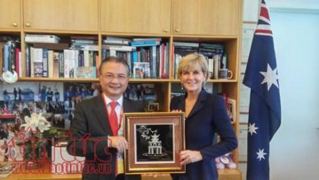 Vietnam et Australie s'efforcent de porter leurs relations a une nouvelle hauteur hinh anh 1
