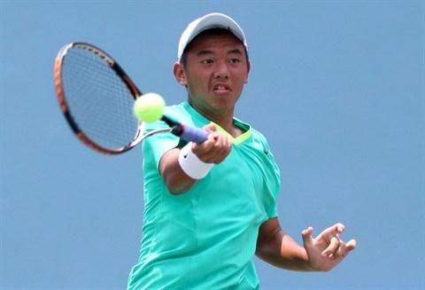 Tennis : Ly Hoang Nam est elimine du Vietnam Challenger Open hinh anh 1