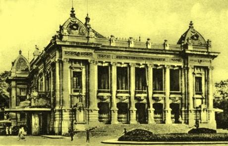 Archivage : exposition sur l'architecture francaise au cœur de Hanoi hinh anh 1