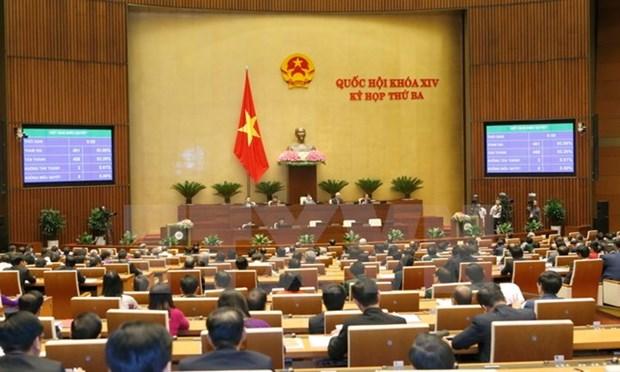 La 4e session de l'Assemblee nationale se poursuit a Hanoi hinh anh 1