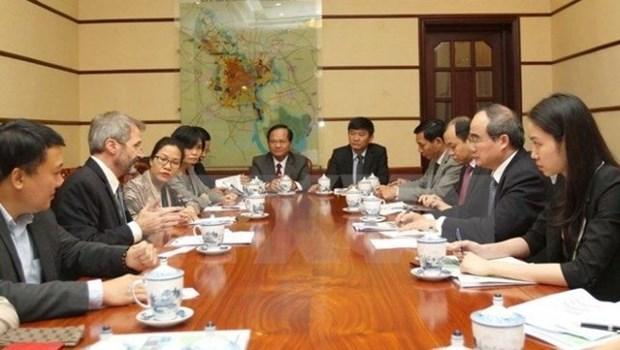 L'IFC invitee a soutenir Ho Chi Minh-Ville dans son developpement hinh anh 1