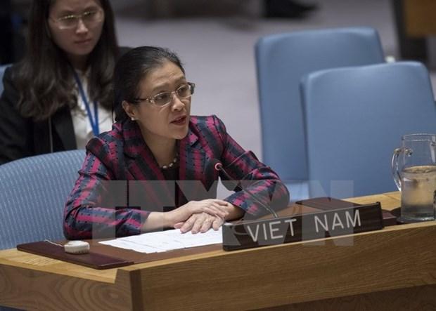 Le Vietnam participe aux operations de maintien de la paix avec responsabilite hinh anh 1