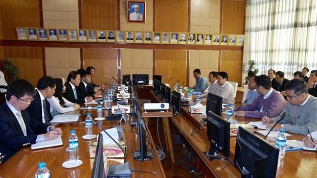Vietnam - Myanmar : Vers une cooperation fructueuse dans l'information et la communication hinh anh 1