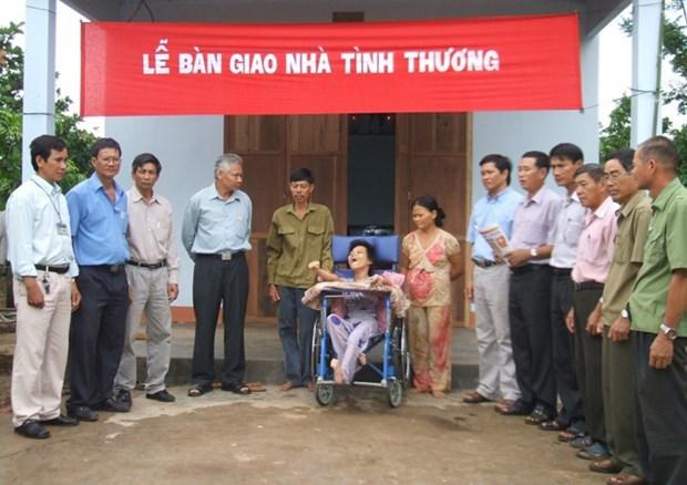Aide a la rehabilitation des victimes de l'agent orange/dioxine et des handicapes hinh anh 1