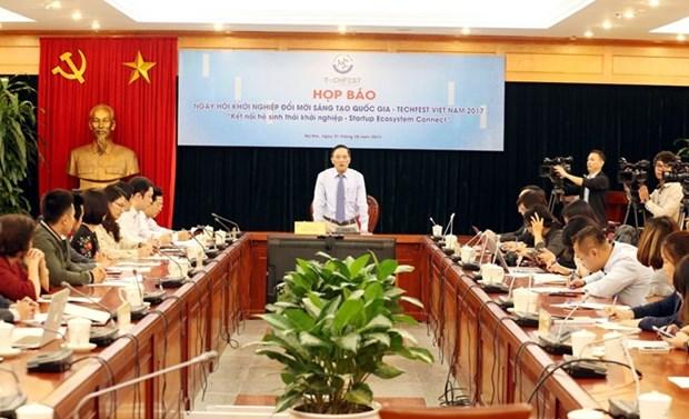 Techfest Vietnam 2017 connectera l'ecosysteme de start-up hinh anh 1
