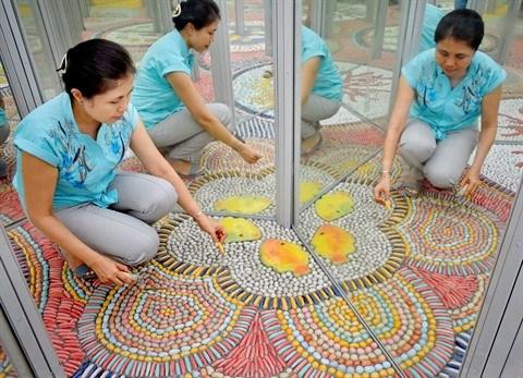 Hanoi : coup de lifting pour le palais des glaces du parc Thong Nhat hinh anh 1