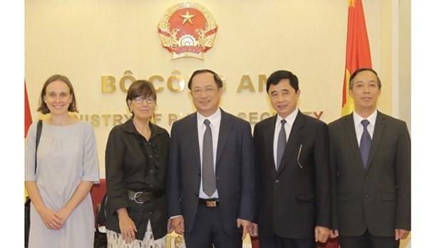 Le Vietnam et la Belgique attendent un accord dans la lutte contre la criminalite hinh anh 1