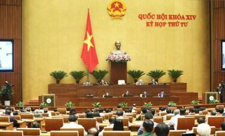 La 4e session de la 14e legislature de l'Assemblee nationale poursuit ses travaux hinh anh 1