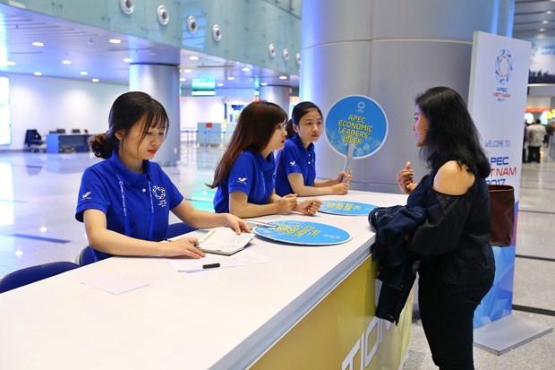 Les habitants de Da Nang saluent la Semaine des dirigeants economiques de l'APEC hinh anh 1