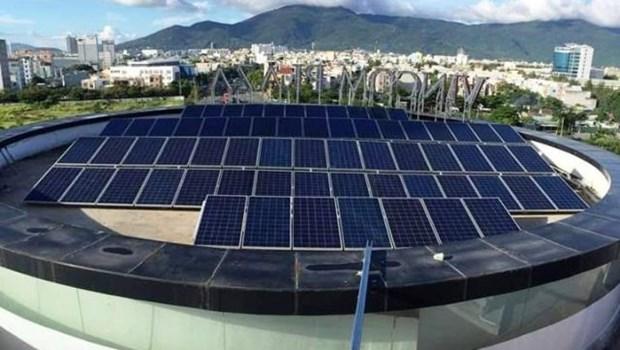 L'UE soutient le developpement de l'energie solaire de Da Nang hinh anh 1