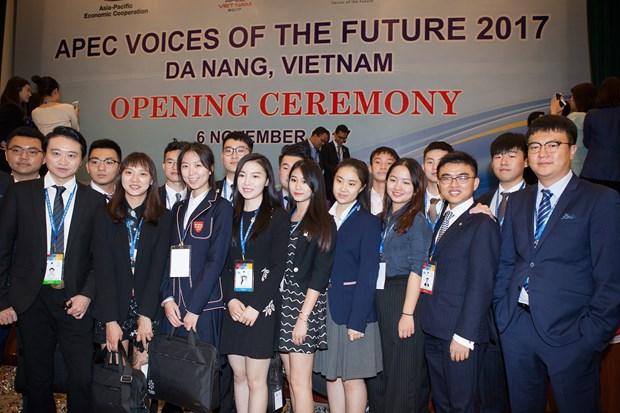 Ouverture du forum Voix du Futur de l'APEC 2017 hinh anh 1