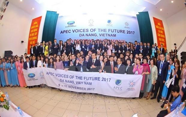APEC 2017 : les jeunes ont un role important hinh anh 1
