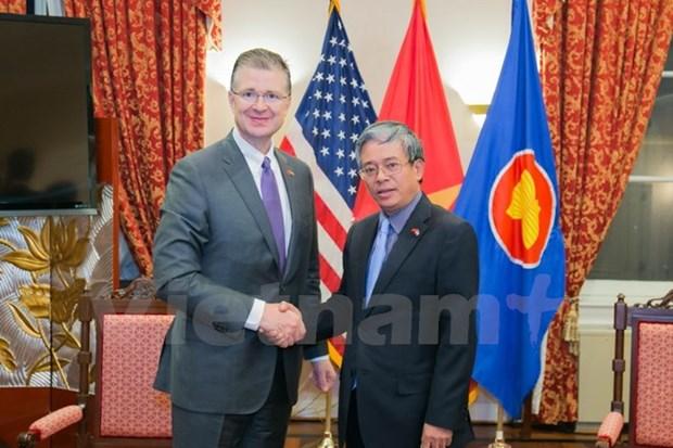 Le nouvel ambassadeur des Etats-Unis affirme sa volonte de cultiver les relations bilaterales hinh anh 1
