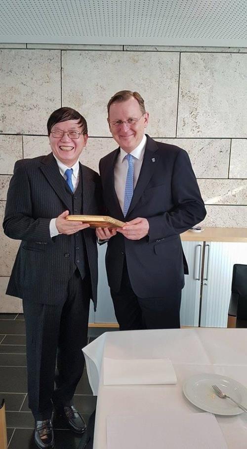 Le Vietnam et le Land allemand de Thuringe renforcent leur cooperation hinh anh 1