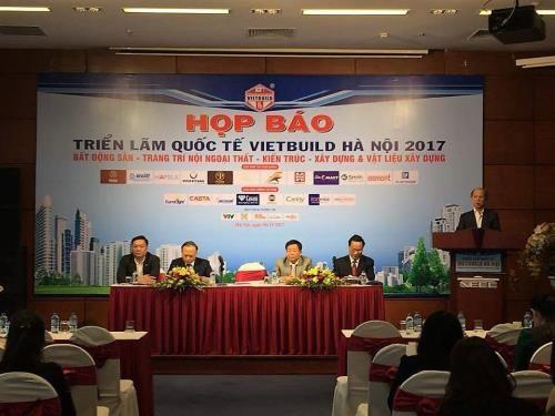 450 entreprises attendues au Vietbuild Hanoi 2017 hinh anh 1