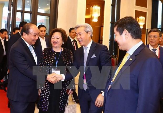 Le PM Nguyen Xuan Phuc rencontre des investisseurs d'Asie-Pacifique hinh anh 1