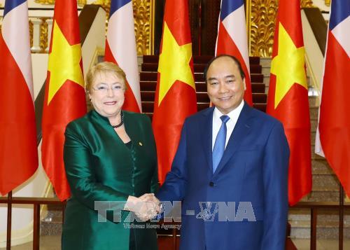 Le Vietnam souhaite stimuler les relations de cooperation multiforme avec le Chili hinh anh 2