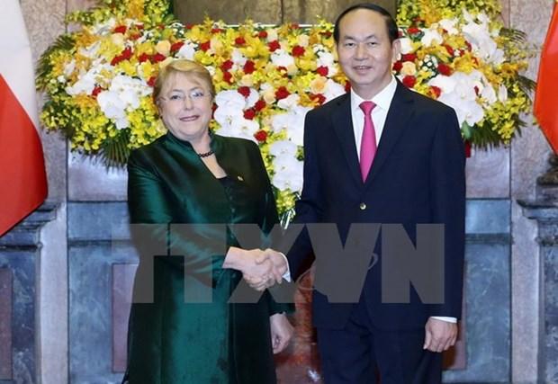 Pour approfondir le partenariat integral entre le Vietnam et le Chili hinh anh 1