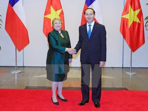 Declaration commune Vietnam-Chili hinh anh 1