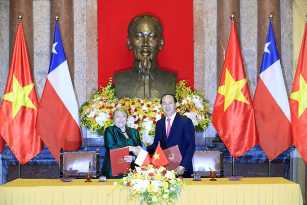 Vietnam-Chili : promouvoir les relations de partenariat integral hinh anh 1